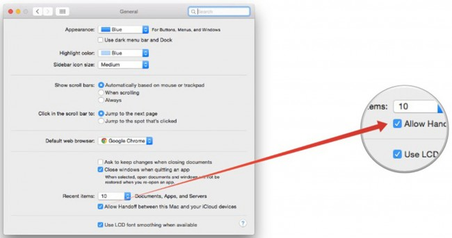 connect iPhone to Mac - Use Continuity step 4