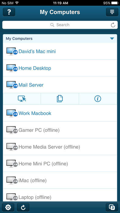 Top 5 Remote Desktop apps for iPhone-LogMeIn