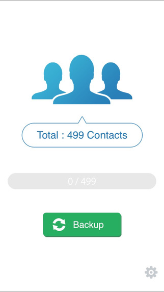 copy contacts from iPhone to PC - Download My Contacts Backup