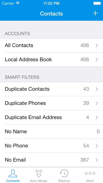 Contacts-Cleanup-Merge-Free