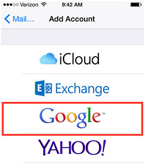 Sync iPhone Contacts to Gmail Directly