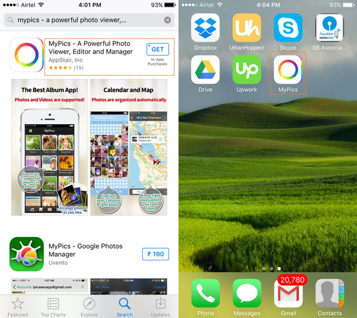 how to transfer and manage iPhone Photos