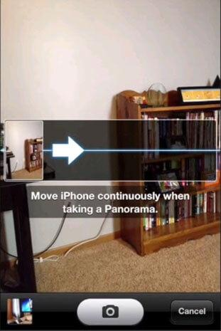 iphone panoramic photo app