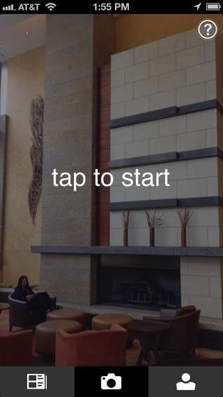 panoramic photo app iphone