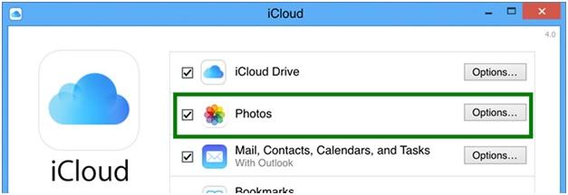 Sync iPhone Photos to PC - Choose Photos