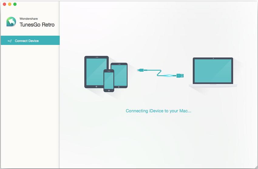 Using Wondershare TunesGo Retro for Data Transfer from PC/Mac to iPhone