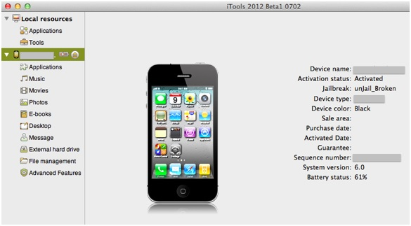 Installeer apps zonder iTunes - sluit je telefoon aan op je computer