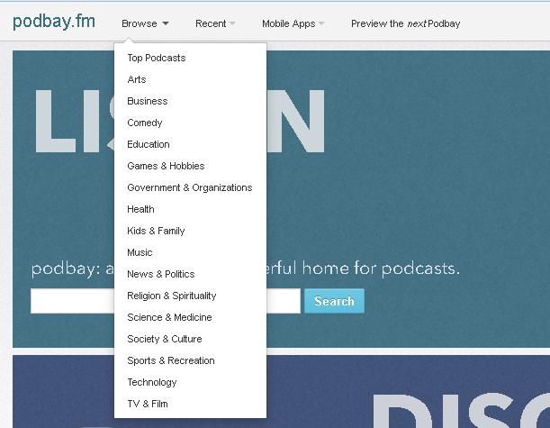 Download podcasts zonder iTunes
