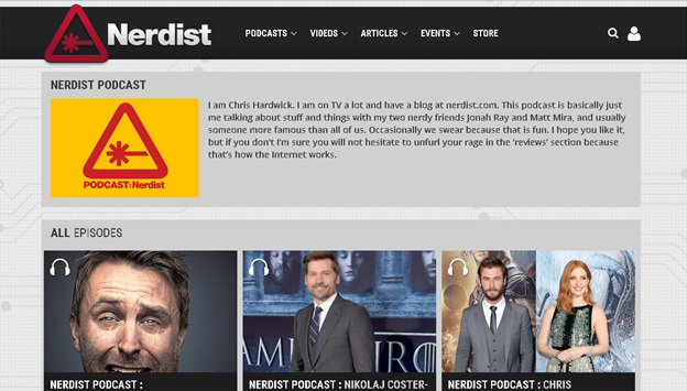 Download Podcasts without iTunes - Visit Nerdist