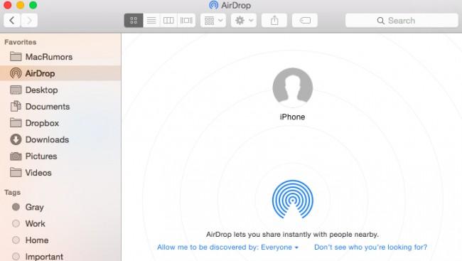 Como usar airdrop do mac ao iphone - Ative o AirDrop no iPhone e no Mac