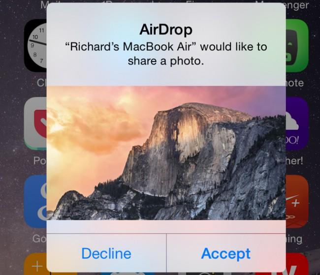 Hoe gebruik je AirDrop tussen je Mac en je iPhone - deel bestanden