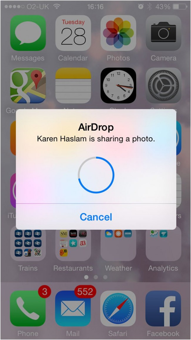How to use airdrop to transfer files from mac to iphone how to use airdrop from mac to iphone finish transfer ccuart Images