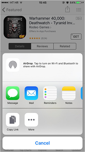 AirDrop iPhone to Mac - WiFi and Bluetooth are active