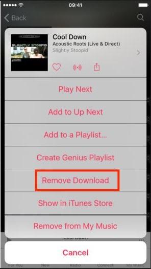 Excluir música do iPhone - Excluir música do iPhone