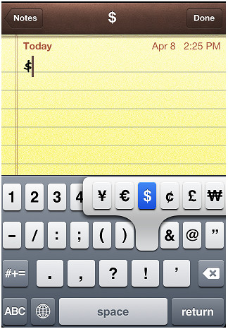 Tricks voor iPhone