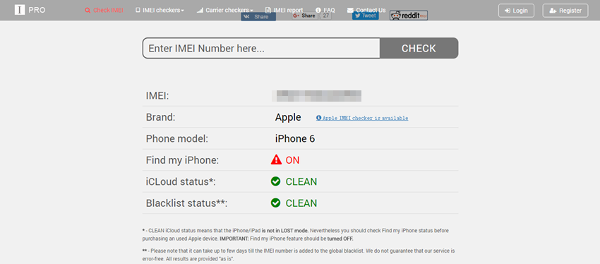 How to Find IMEI on iPhone - Check iPhone Status