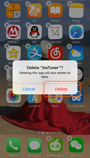 Clear up Space on iPhone - Delete App from iPhone
