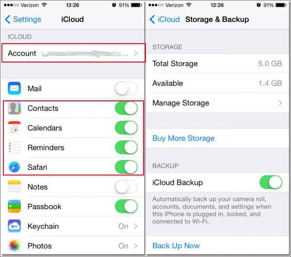 Must-do stappen voor je nieuwe iPhone - Activeer iCloud