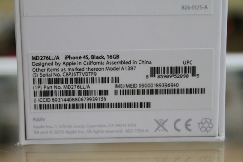 Como encontrar IMEI no iPhone - Encontrar iPhone IMEI na caixa