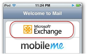 Sync iPhone Calendar - Set up Hotmail on iPhone