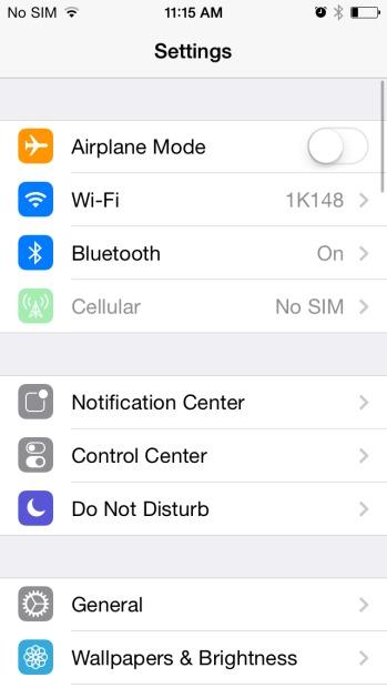 Ford sync iPhone - étape 2 pour coupler votre téléphone avec Ford SYNC