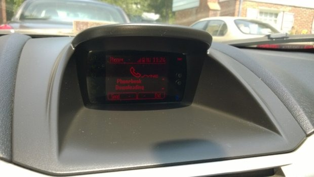 iPhone Ford Sync - punto 2 di sincronizzazione iPhone di Ford Sync