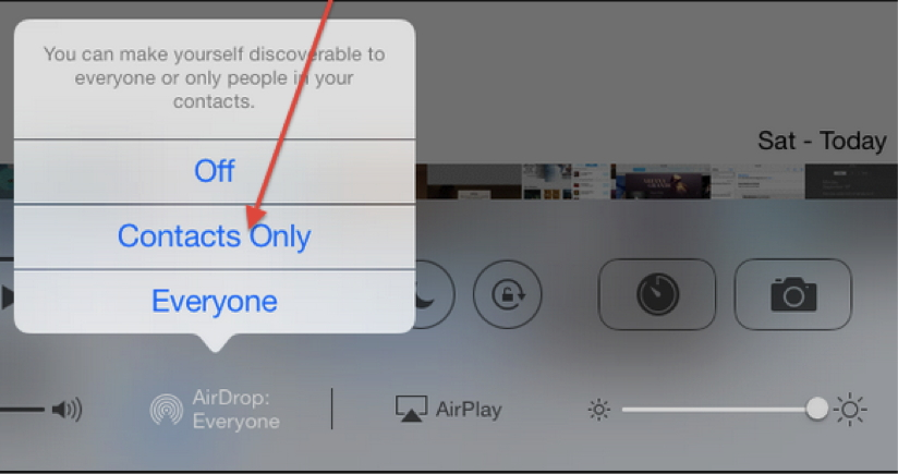 Transfer Video From iPhone To iPad Using Airdrop