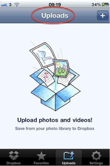 Uso de Dropbox para Transferir Videos desde el iPhone a la Computadora