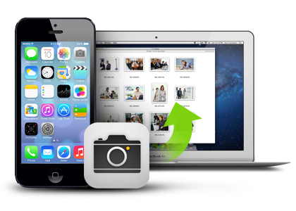 how to download photos from iphone to mac without iphoto