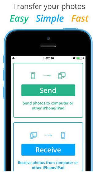 photo transfer app ipad