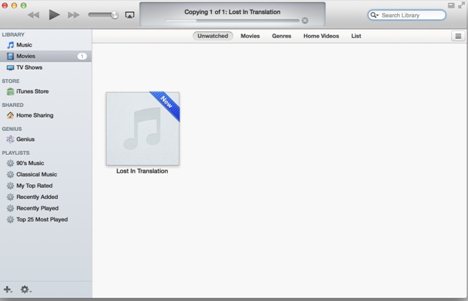 Kostenlose Methode zum übertragen von Musik von der externen Festplatte