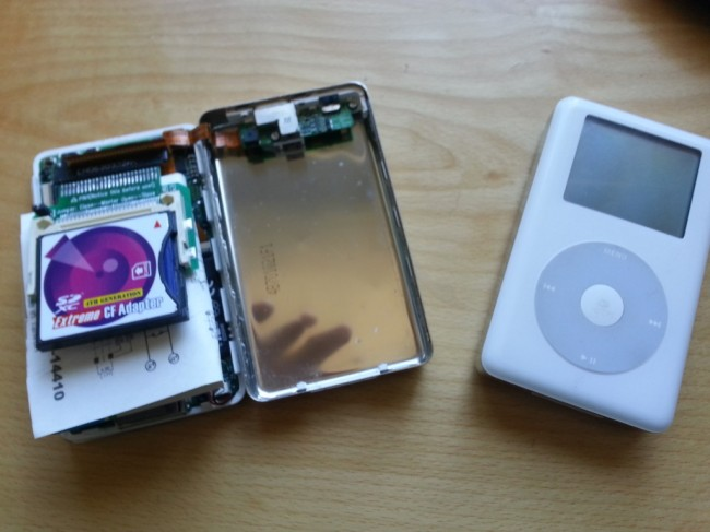 Tips on How to Make The Most of Your iPod - Install a new hard drive