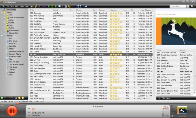 iPod touch manager-MediaMonkey