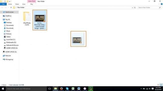 Wie man Videos auf den iPod Nano überträgt - Dieses Video rüberziehen und ablegen