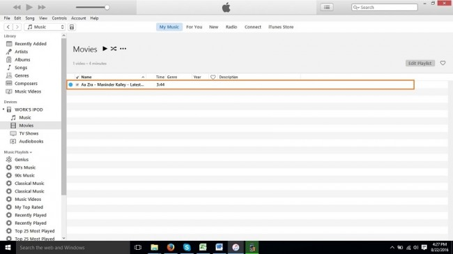 Wie man Videos auf den iPod Nano überträgt - Ihrem iPod erfolgreich hinzugefügt