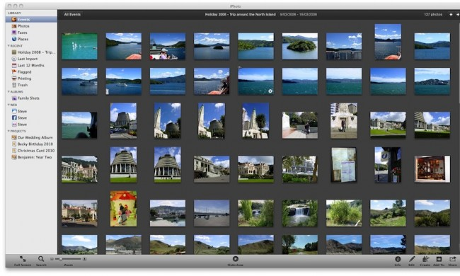 Transfer Photos from iPod touch to Mac-iPhoto
