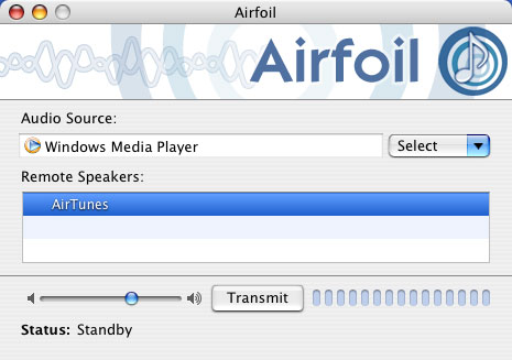 Stream music to ipod from PC-Airfoil