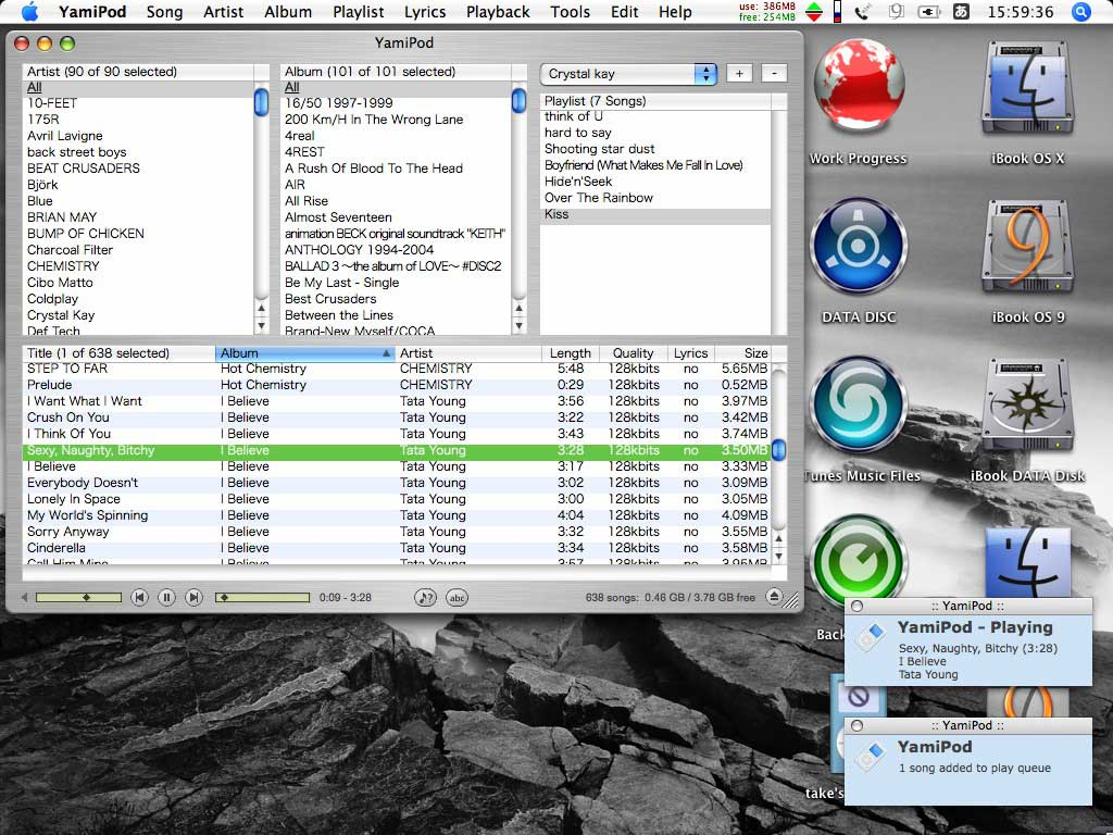 iPod to Mac Transfer Tool - YamiPod
