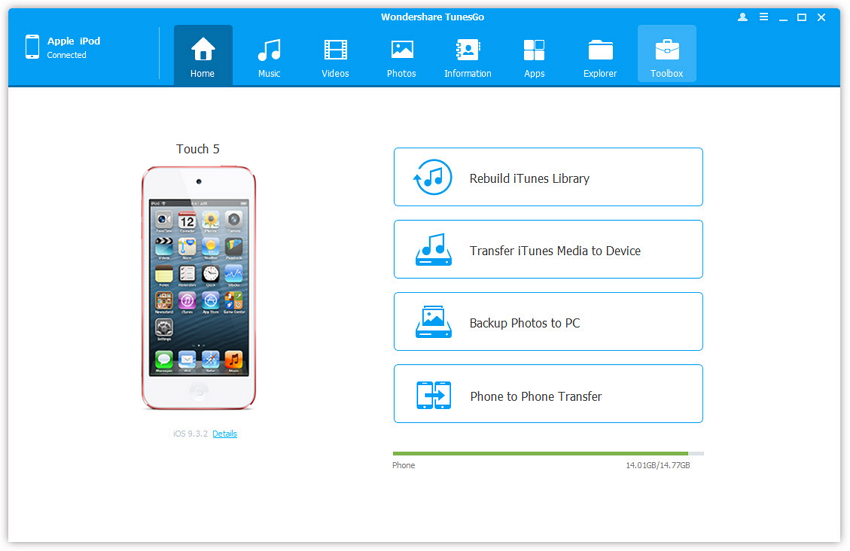 iPod File Manager: Manage Music, Videos Photos with Ease