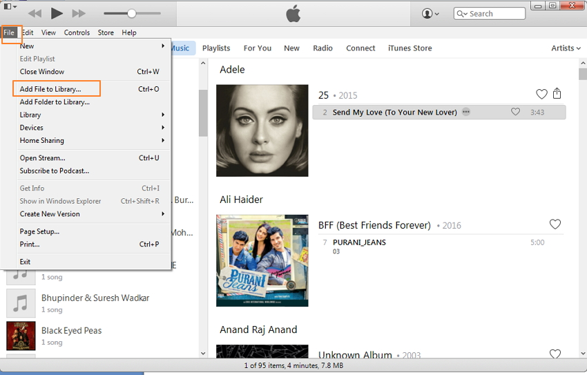 Transfer Audiobooks to iPod Using iTunes