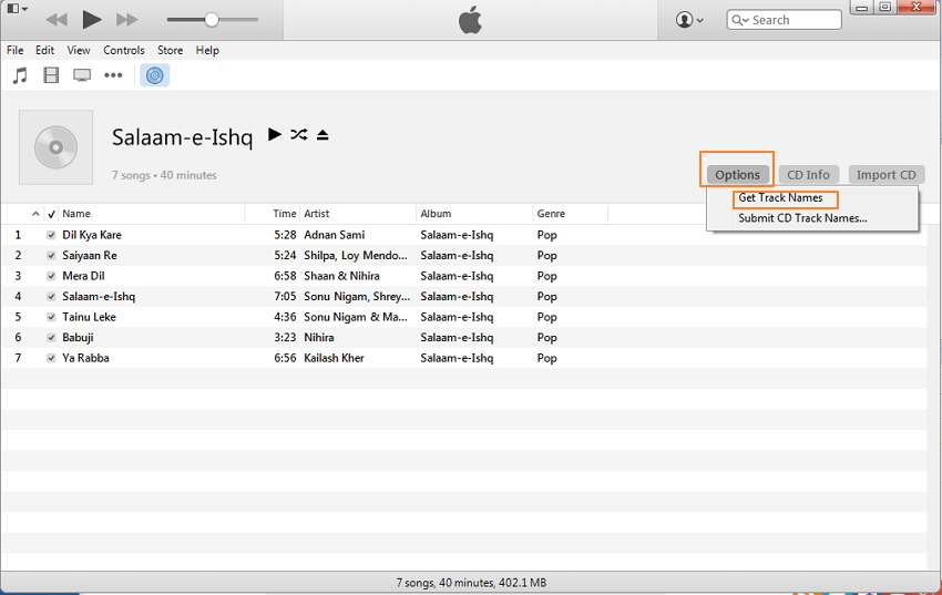 how to put cd on iphone with itunes