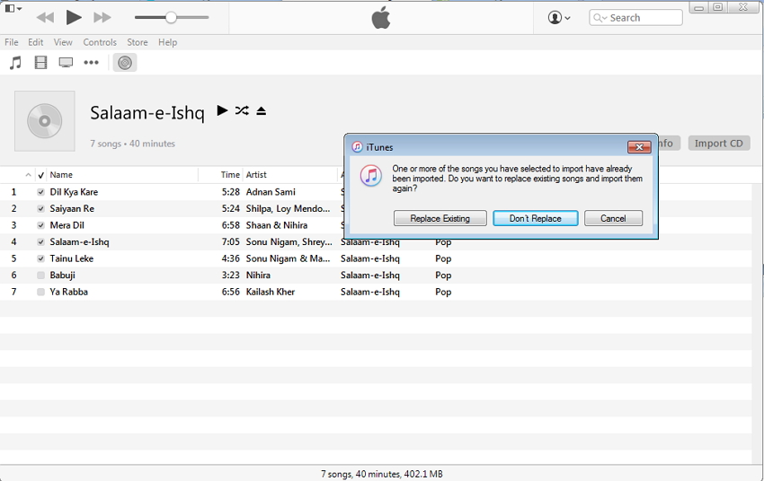 Copy CD to iPod, iPhone, or iPad with iTunes