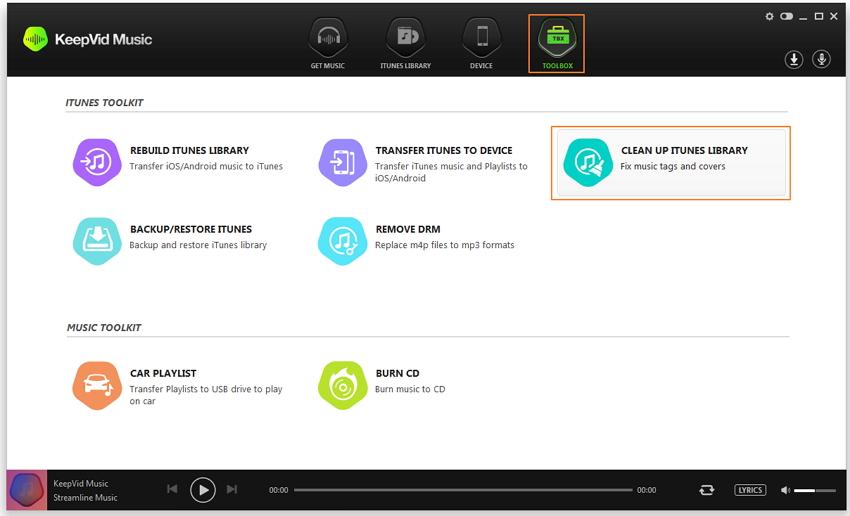 iTunes Bibliothek reparieren - iTunes Bibliothek aufräumen