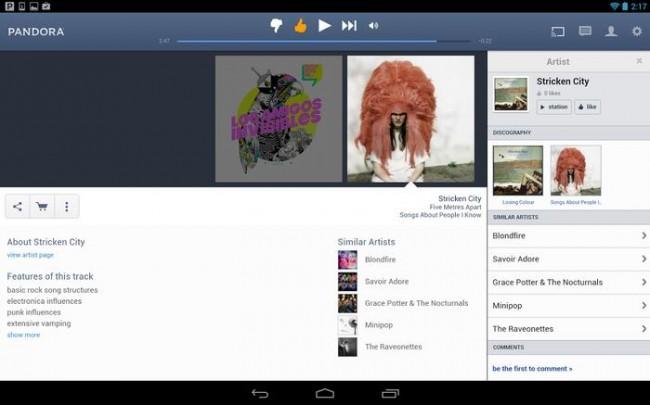 iTunes radio vs pandora-Pandora