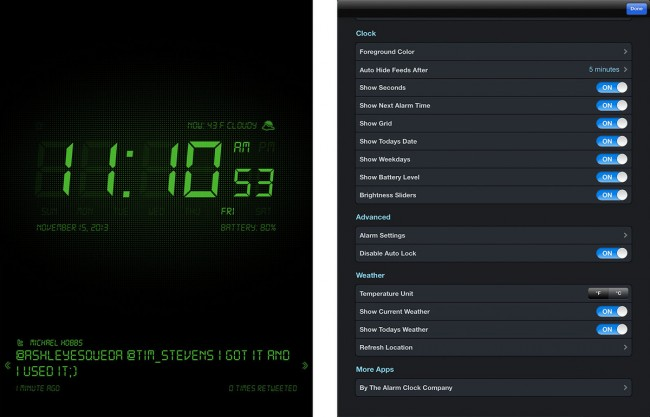 Top 5 iTunes widgets from yahoo-iTunes Alarm Clock