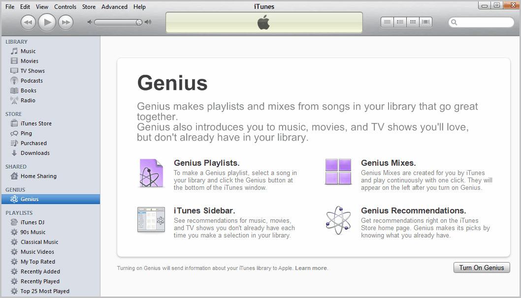 itunes music vs apple music-iTunes Genius