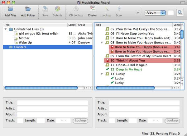 music tag editor for iTunes-MusicBrainz Picard