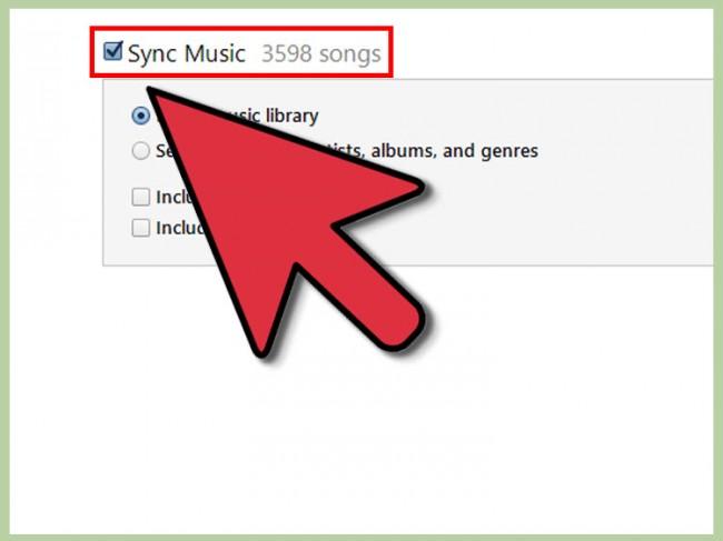 Wie man Songs von iTunes mithilfe von iTunes auf den iPod überträgt-Musik synchronisieren
