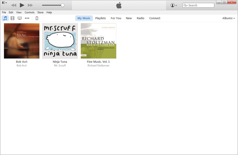 Trovare i file MP3 in iTunes