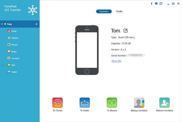 iPod-Playlisten auf iTunes übertragen - Fonepaw